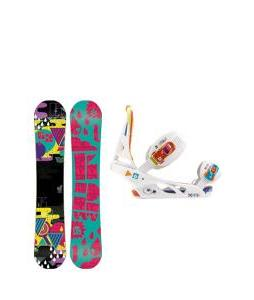 K2 Vavavoom Rocker Snowboard with Burton Scribe Bindings