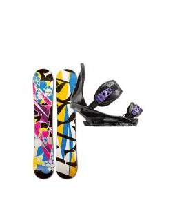 Rossignol Justice Amptek Snowboard with Burton Citizen Re:Flex Bindings
