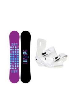 Sapient Mystic Snowboard with Sapient Zeta Bindings