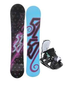 5150 Prism Snowboard with Flow Haylo Bindings