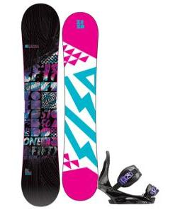 5150 Sienna Snowboard with Burton Citizen Re:Flex Bindings