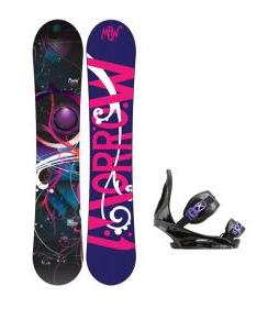 Morrow Seneca Snowboard with Burton Citizen Re:Flex Bindings