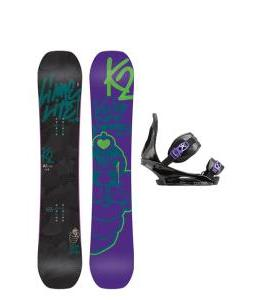 K2 Lime Lite Snowboard with Burton Citizen Re:Flex Bindings