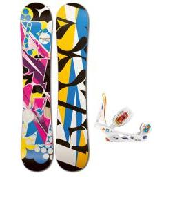 Rossignol Justice Amptek Snowboard with Burton Scribe Bindings