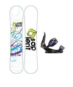 Sapient Spiral Snowboard with Burton Citizen Re:Flex Bindings