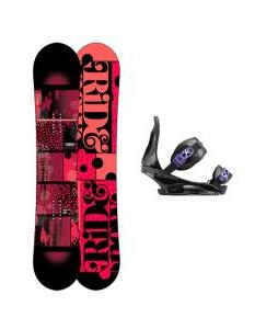 Ride Compact Snowboard with Burton Citizen Re:Flex Bindings
