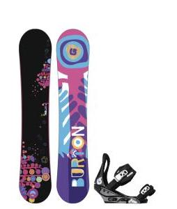 Burton Feather Wide Snowboard with Burton Citizen Bindings