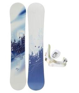 M3 Free Snowboard with Morrow Lotus Bindings