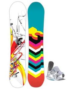 DC Ply Snowboard with Flow Flite 2W Bindings