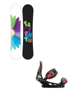 Sapient Color Wheel Snowboard with Burton Scribe Bindings