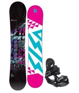 5150 Sienna Snowboard with Avalanche Summit Bindings