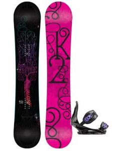 K2 Bright Lite Snowboard with Burton Citizen Re:Flex Bindings