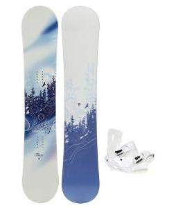 M3 Free Snowboard with Sapient Zeta Bindings