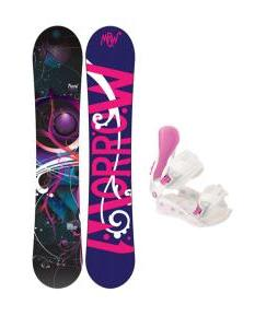 Morrow Seneca Snowboard with Avalanche Serenity Bindings