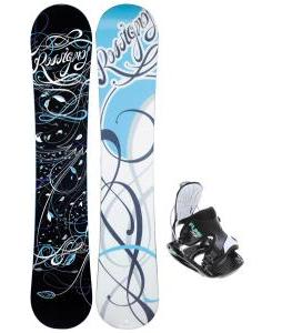 Rossignol Gala Amptek Snowboard with Flow Haylo Bindings
