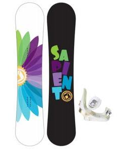 Sapient Color Wheel Snowboard with Morrow Lotus Bindings