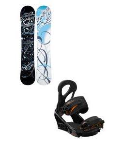 Rossignol Gala Amptek Snowboard with Burton Stiletto Bindings