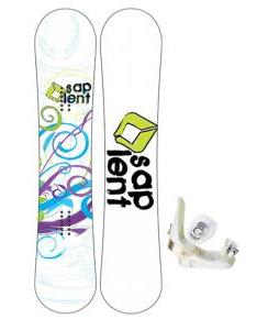 Sapient Spiral Snowboard with Morrow Lotus Bindings