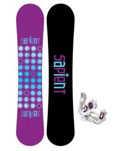 Sapient Mystic Snowboard with LTD LT250 Bindings