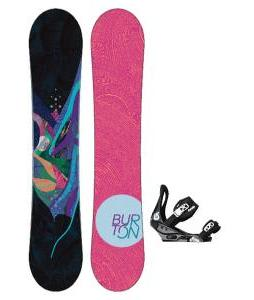 Burton Lux Snowboard with Burton Citizen Bindings