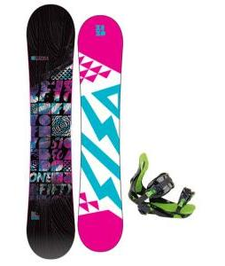 5150 Sienna Snowboard with Rossignol Justice Bindings