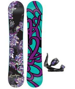 K2 Lunatique Snowboard with Burton Citizen Re:Flex Bindings