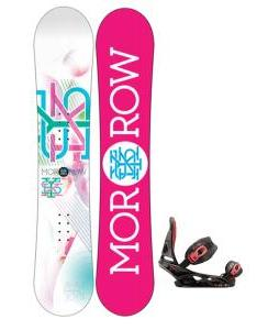 Morrow Sky Snowboard with Burton Scribe Bindings