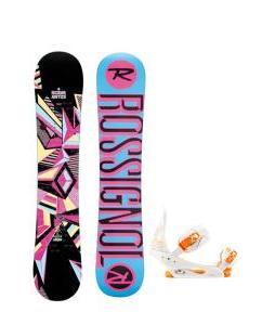Rossignol Justice Amptek Snowboard with Burton Stiletto Bindings