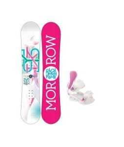Morrow Sky Snowboard with Avalanche Serenity Bindings