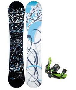 Rossignol Gala Amptek Snowboard with Rossignol Justice Bindings