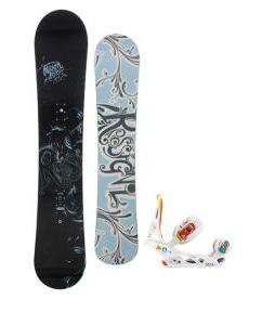 Rossignol Reserve Snowboard with Burton Scribe Bindings