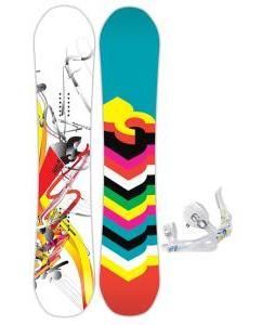 DC Ply Snowboard with Rossignol Frenemy Bindings