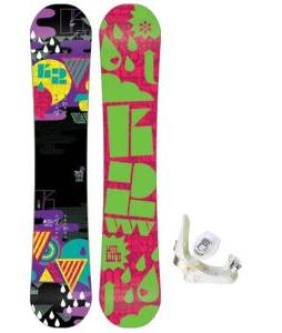 K2 Vavavoom Rocker Snowboard with Morrow Lotus Bindings