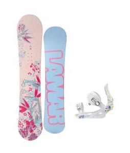 Lamar Merlot Snowboard with Rossignol Frenemy Bindings