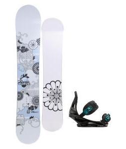 Santa Cruz Muse Snowboard with Burton Stiletto Bindings