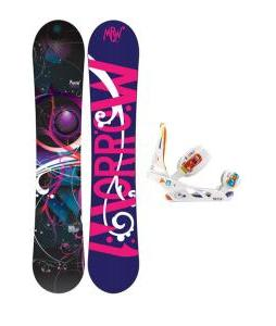 Morrow Seneca Snowboard with Burton Scribe Bindings