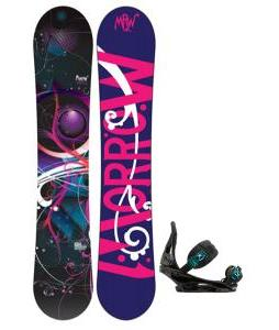 Morrow Seneca Snowboard with Burton Stiletto Bindings