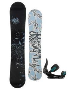 Rossignol Reserve Snowboard with Burton Stiletto Bindings
