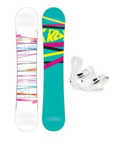 K2 First Lite Snowboard with Sapient Zeta Bindings