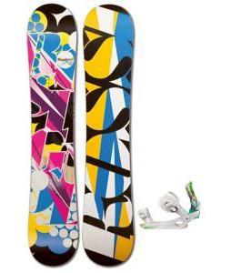 Rossignol Justice Amptek Snowboard with Rossignol Tesla Bindings