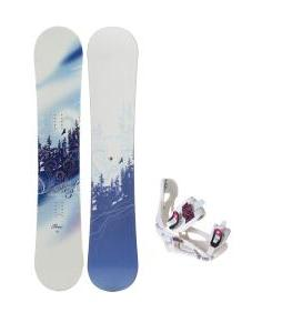 M3 Free Snowboard with LTD LT250 Bindings