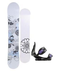 Santa Cruz Muse Snowboard with Burton Citizen Re:Flex Bindings