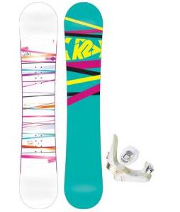 K2 First Lite Snowboard with Morrow Lotus Bindings