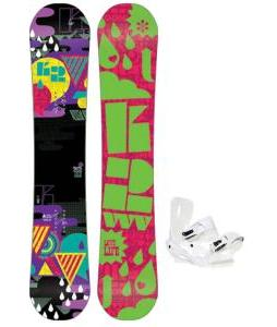 K2 Vavavoom Rocker Snowboard with Sapient Zeta Bindings