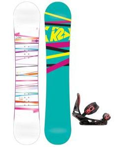 K2 First Lite Snowboard with Burton Scribe Bindings