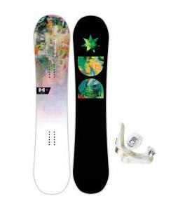 DC Biddy Snowboard with Morrow Lotus Bindings