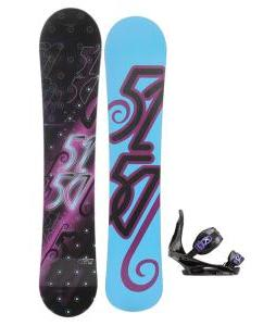 5150 Prism Snowboard with Burton Citizen Re:Flex Bindings