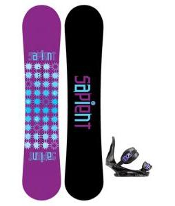 Sapient Mystic Snowboard with Burton Citizen Re:Flex Bindings