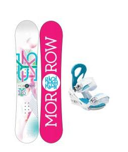 Morrow Sky Snowboard with Burton Stiletto Bindings