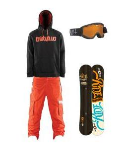 Orange and Black Slopes
